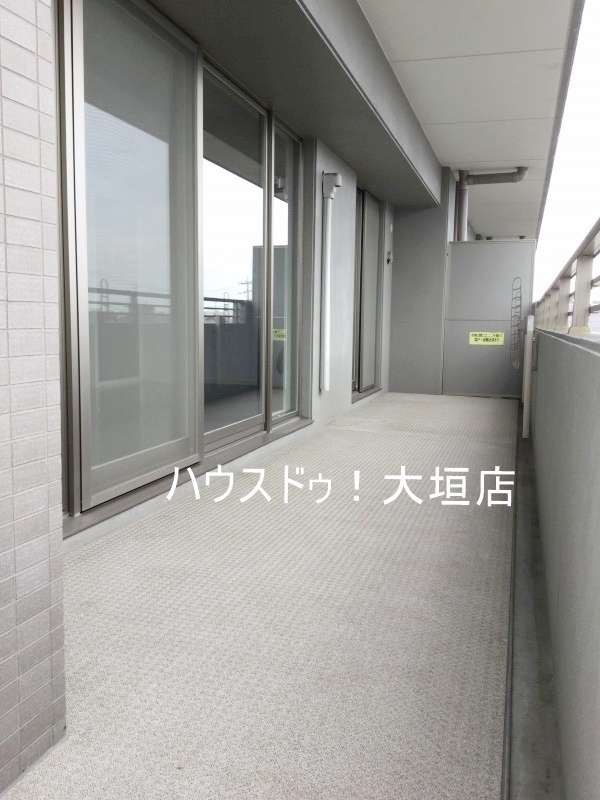 2016/08/29 撮影  東側 バルコニー