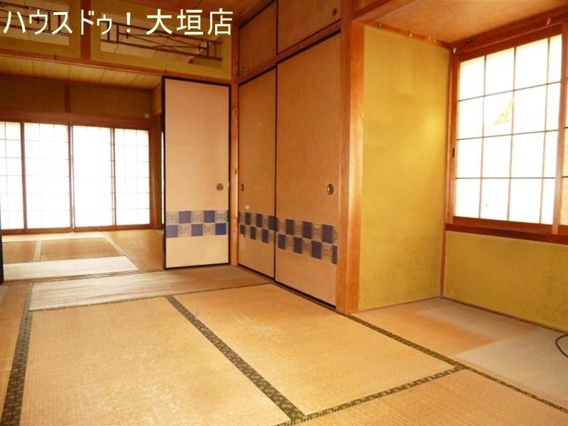 一階2間続きの和室。1室は玄関から直接出入りできるので、客間としてもご利用頂けます。