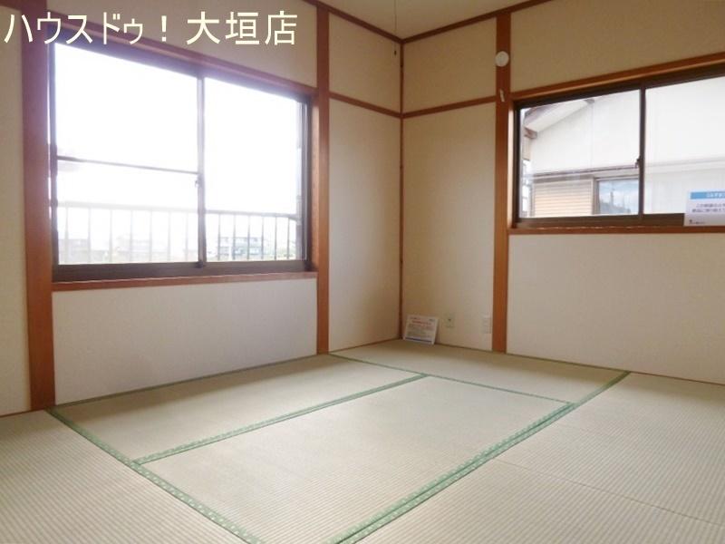 2階の和室。