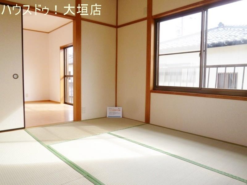 2階の和室は洋室と繋げてお使い頂けます。