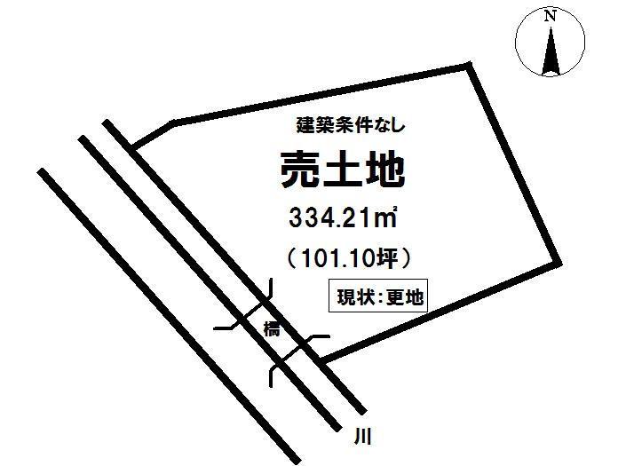 【区画図】 富士宮市朝日町の売土地物件です。
