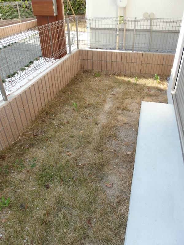 お庭もあります