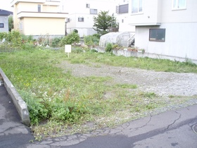 江別市元町の、売土地です