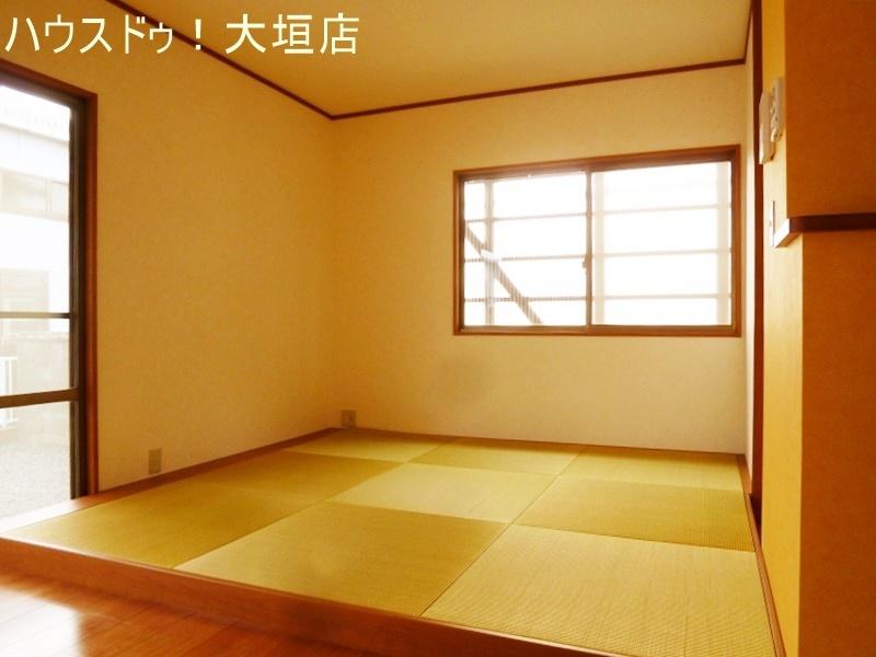 畳コーナーはお子様の遊びのスペースやお昼寝スペースなどに。