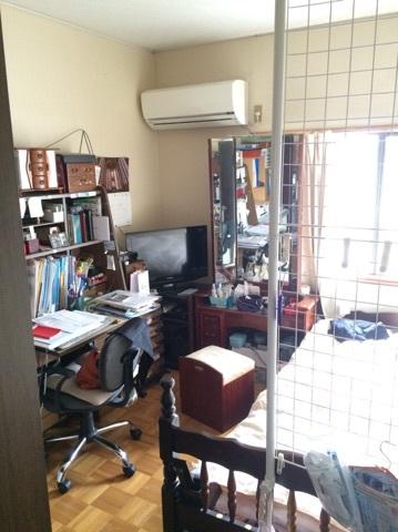 2階には洋室が2室。