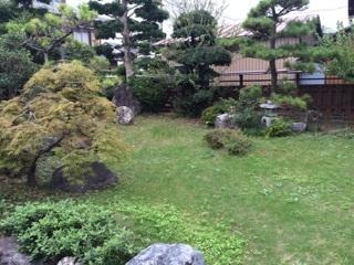 広いお庭があるので、お子様の遊び場として最適です。