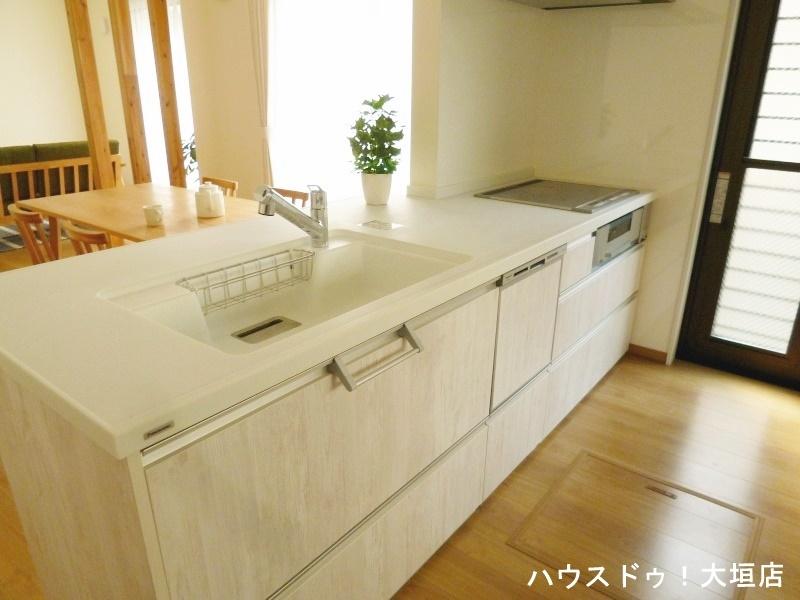 食器洗浄機付きで忙しい奥様を助けます。