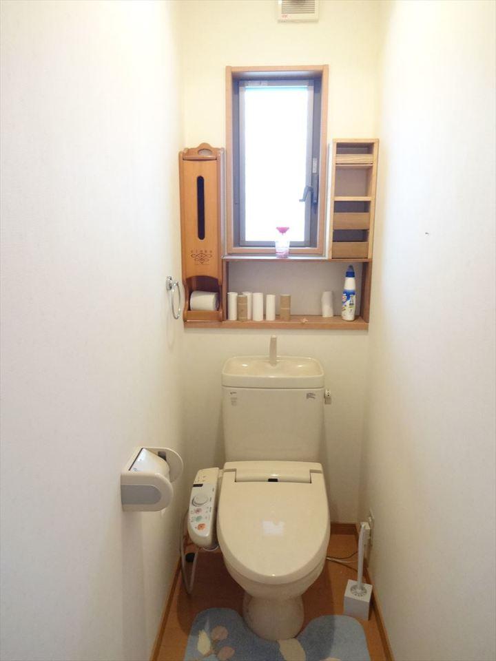 トイレは、2つあるので安心です。
