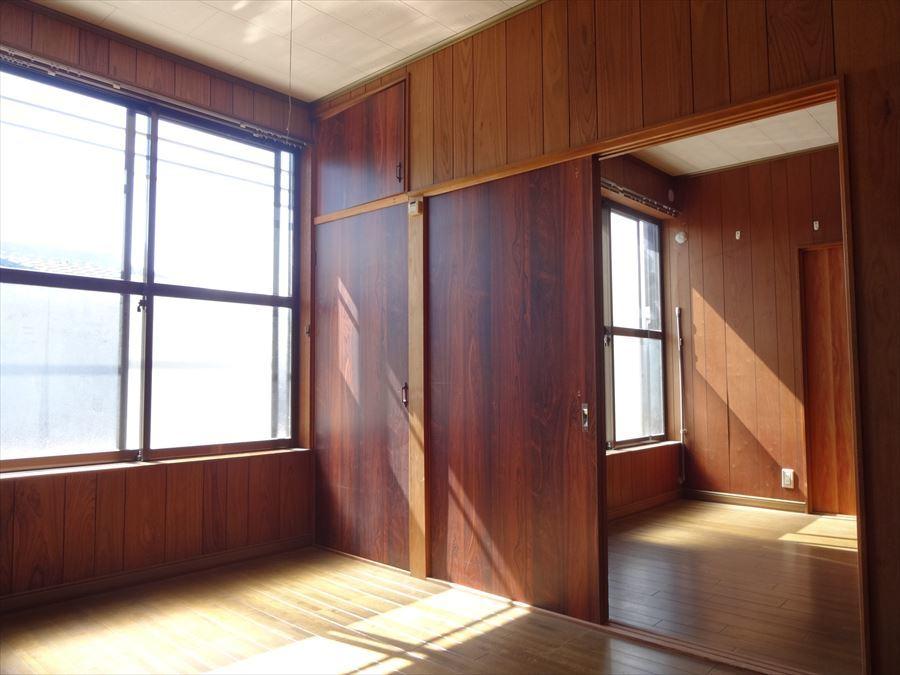 2Fの洋室は引き戸で繋がっているので、使い方は多種多様です。