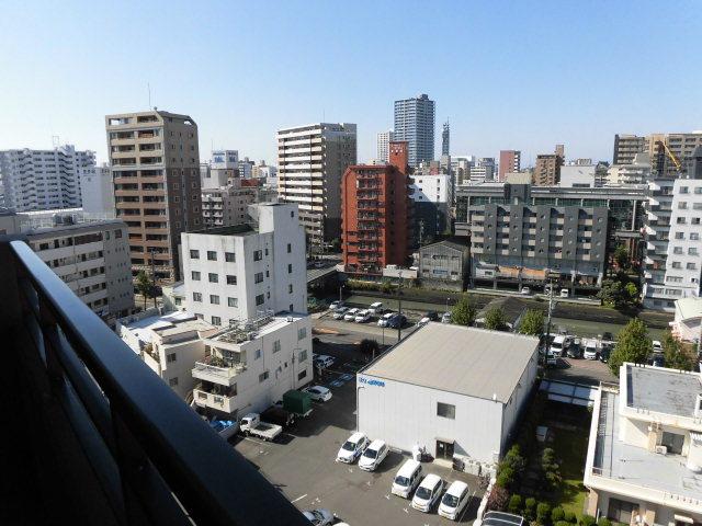 10階からの眺望です。