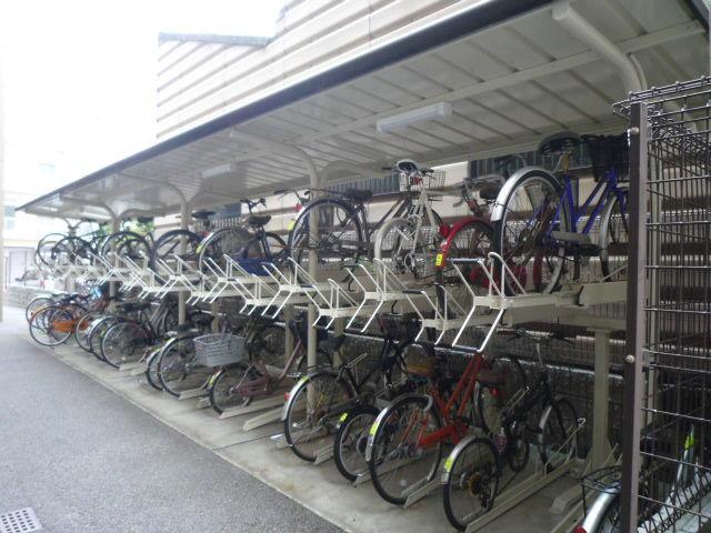 共有スペース:駐輪場