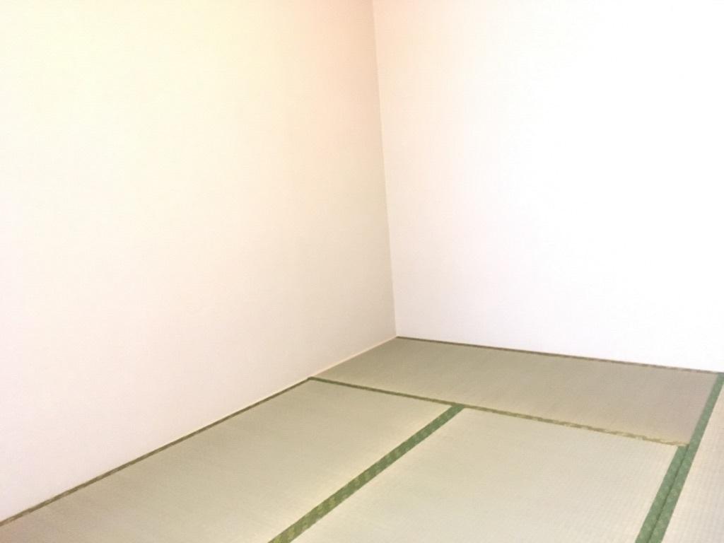 畳表替えしました い草の香りに癒されませんか 客間として キッズスペースとして 家事スペースとしてマルチに使える便利な空間です