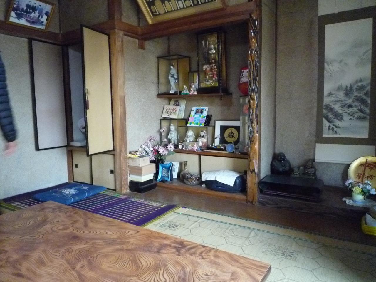 1階和室 床の間