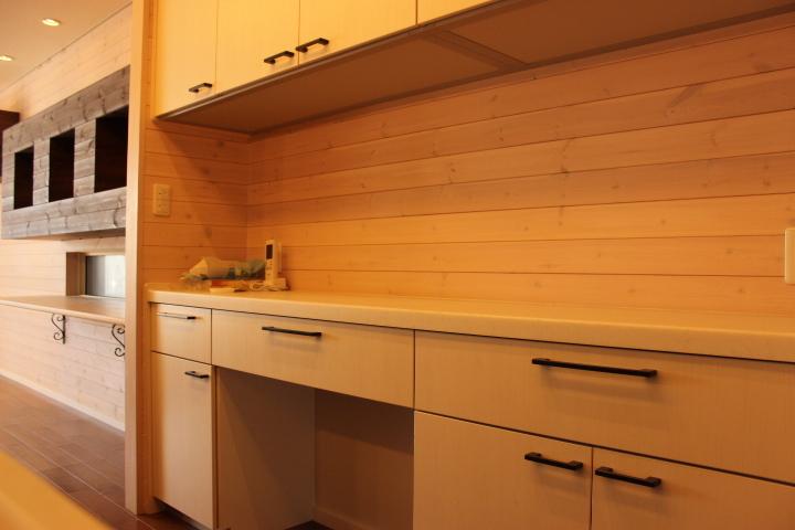 食器棚も備え付けなので新たに買う心配もいりません