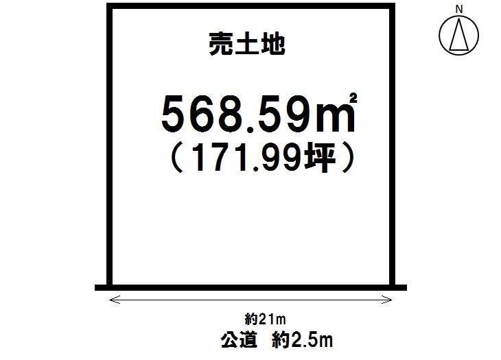 【区画図】 小倉町7丁目 売り土地 名鉄常滑線 大野町駅徒歩7分