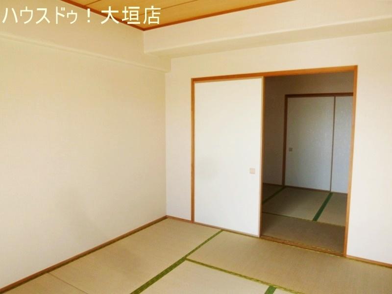 和室2間は、寝室やお子様の遊びスペースとしてもお使い頂けます。