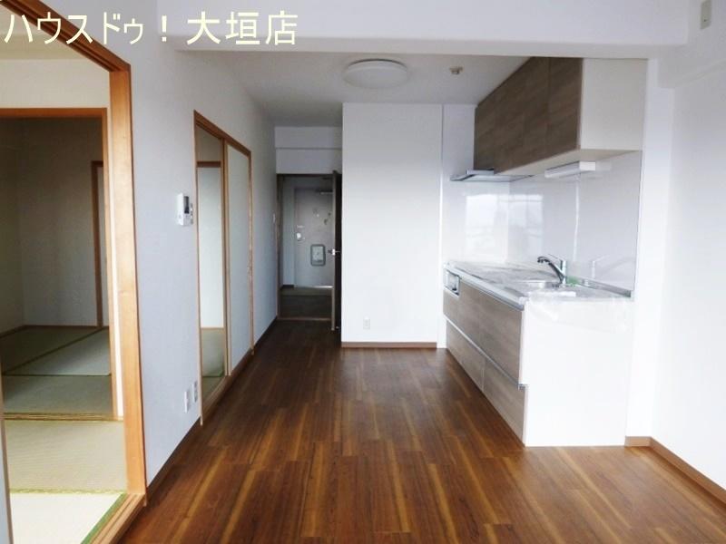 リビングとは3室が隣接する為、生活同線も効率がよいです。