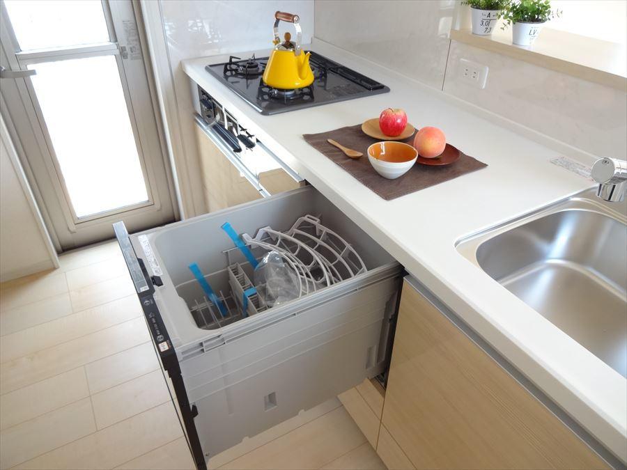 食器洗浄機で楽々ピカピカ☆