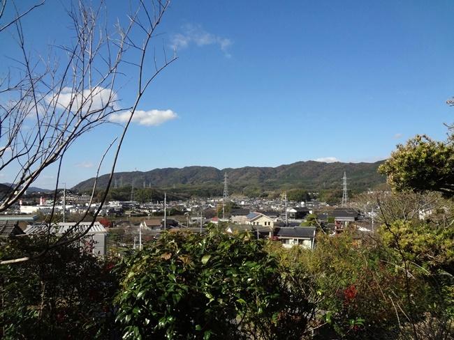 高台なので、町が眺望できます。