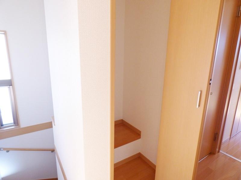◎階段横収納