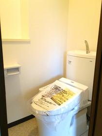 ◆ペルル企救丘弐番館 新品のトイレ 温水洗浄便座付き♪◆人気エリアのリフォーム中古マンション♪