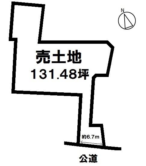 【区画図】 土地:131.48坪