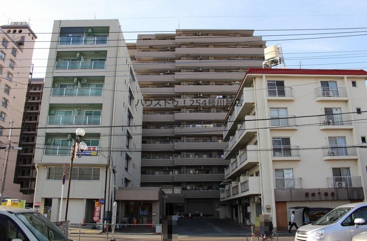 【外観写真】 上福岡駅より徒歩4分!都心へのアクセスもスムーズです。最上階13階につき見晴らしも良好!