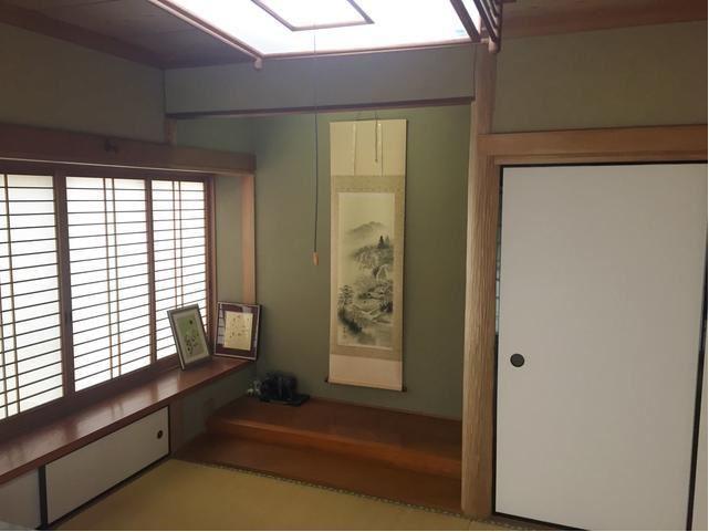 とても趣のある和室になっていますね。
