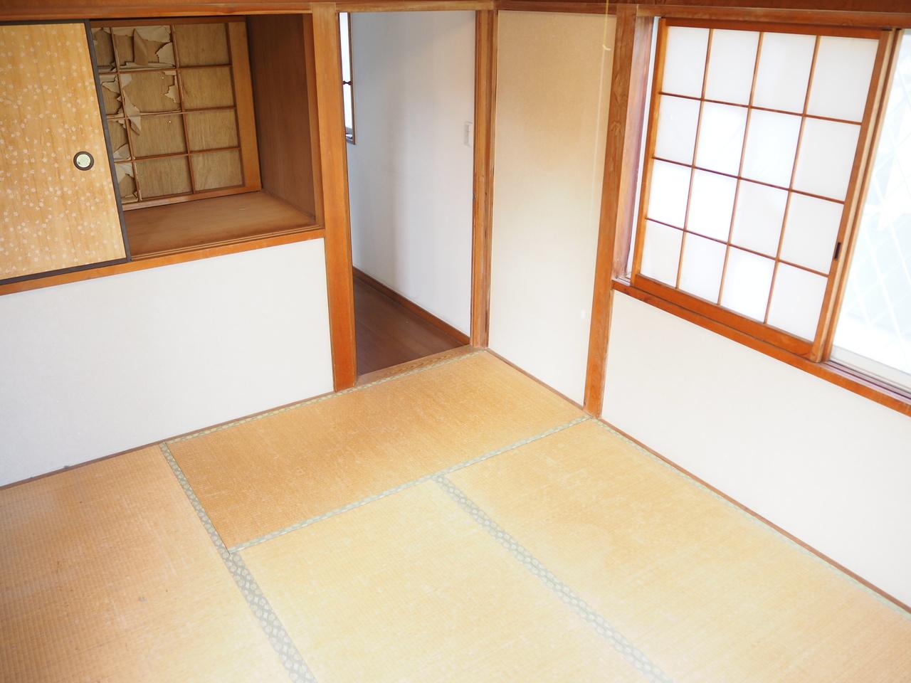 2階和室部分の様子です。