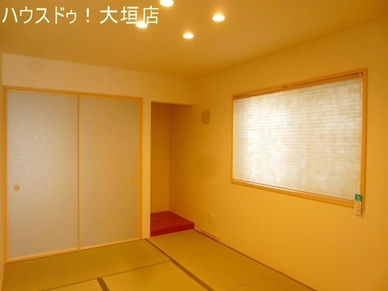落ち着いた和室は客間以外にも寝室やお子様の遊びスペースに。