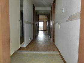 玄関からLDKまでの風通しとても良いです。角部屋ですから廊下の人通りもなし、玄関ドア開けておきますか?