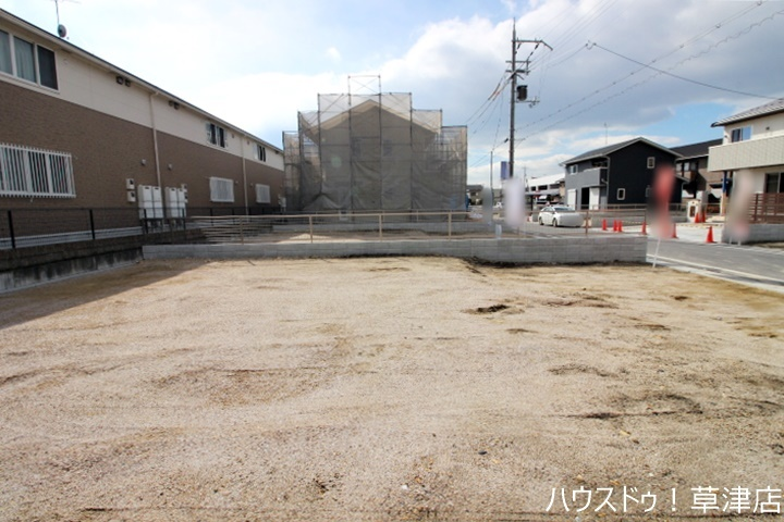 【外観写真】 全17区画・土地約50坪・建築条件なし・更地渡しの売土地です