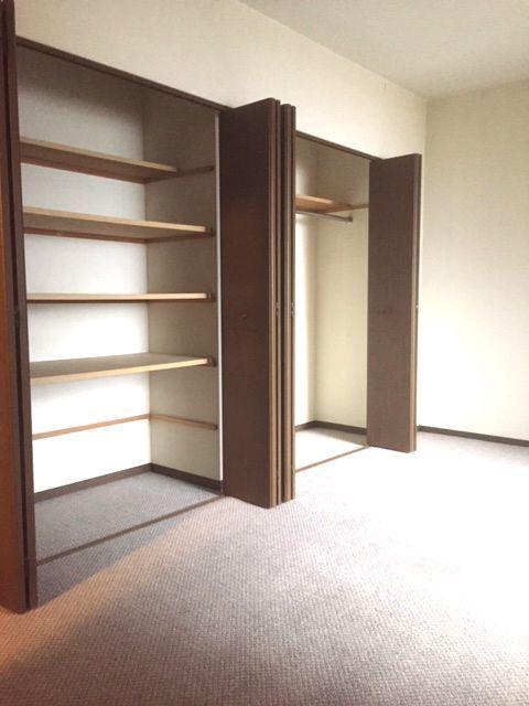 全室に収納スペースを確保!