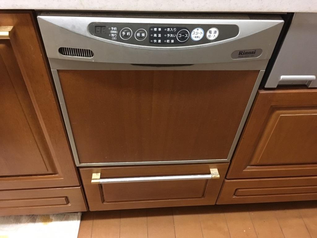 家事時間を短縮してくれる食器洗浄乾燥機つき