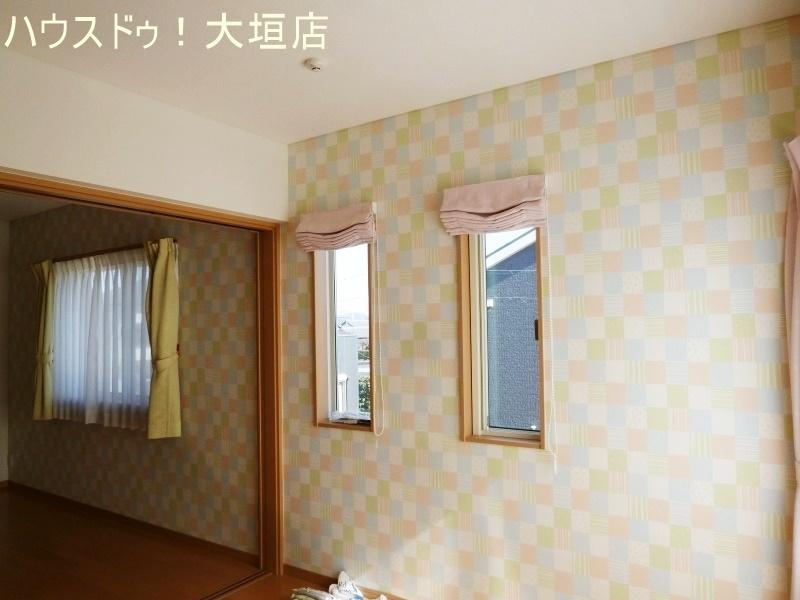 2階洋室は、必要に応じてドアで仕切ることができます。