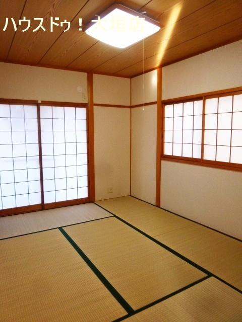 独立型の和室は急な来客時に便利です。