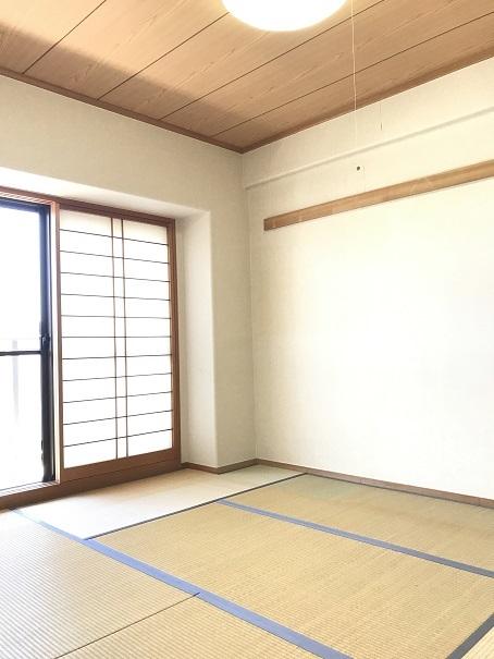 和室も南向きのため、とても明るく、客間にぴったり♪