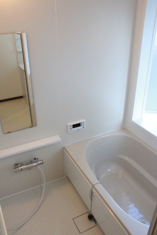 新しい浴室です。