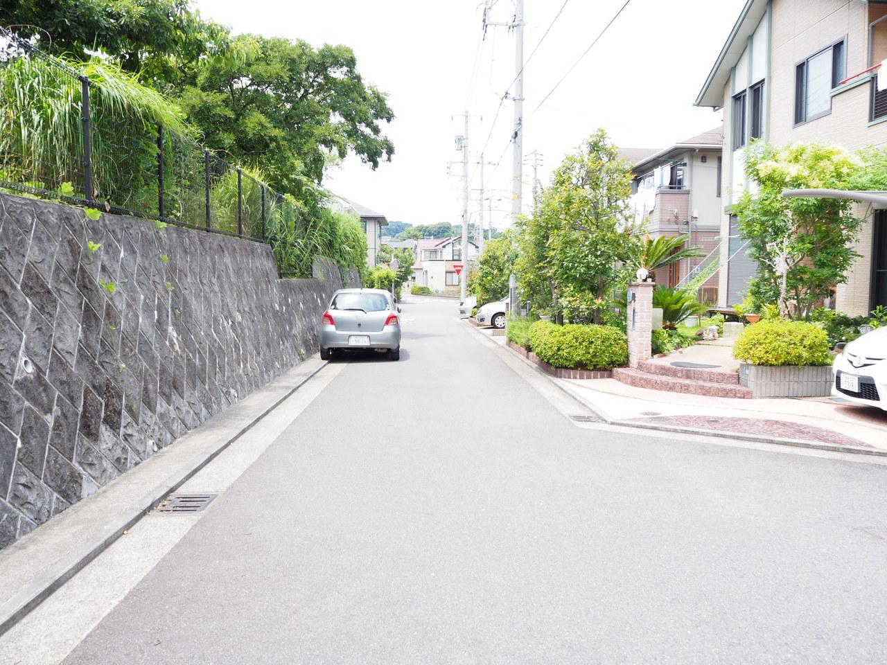 周辺道路です