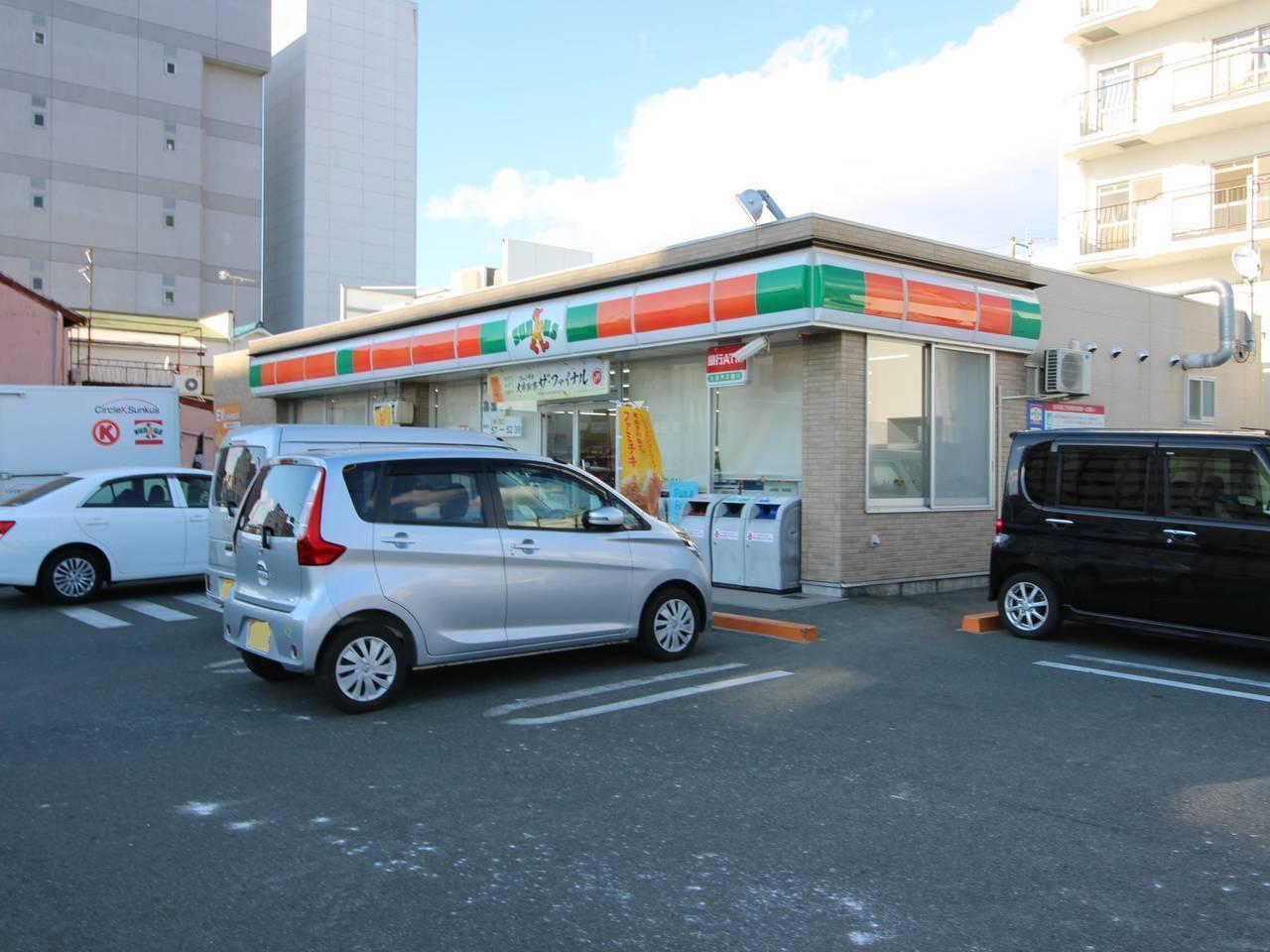 【コンビニ】サンクス豊橋前田町店まで徒歩1分(7m)