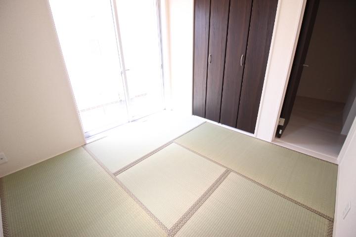 1F 4.5帖和室 LDKと分離している為、客室として利用できます。