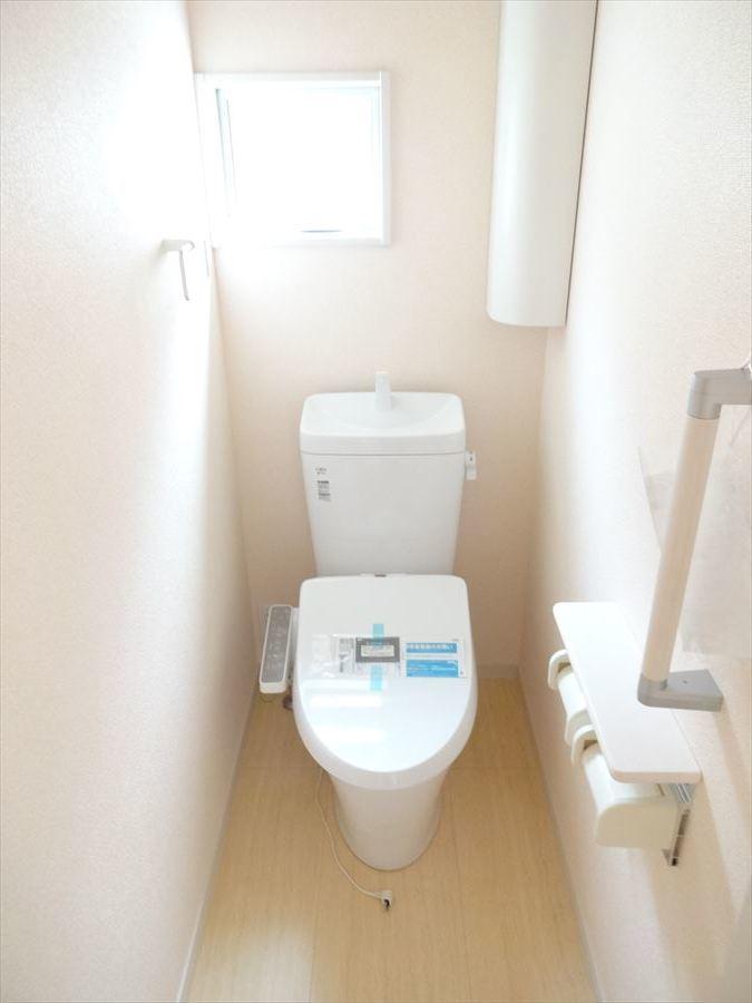 トイレも広いです♪