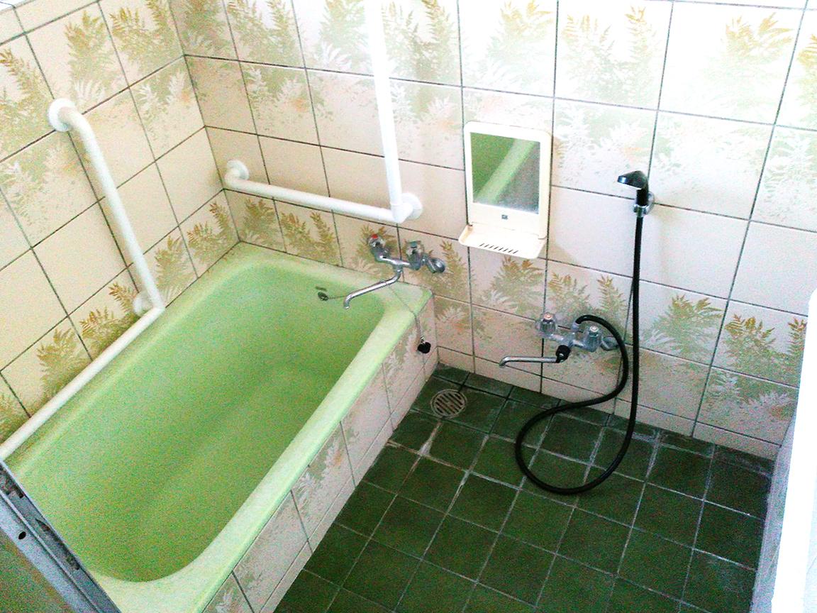 浴室は使用感がありますのでリフォームをおススメいたします♪お見積りもお任せ下さい♪