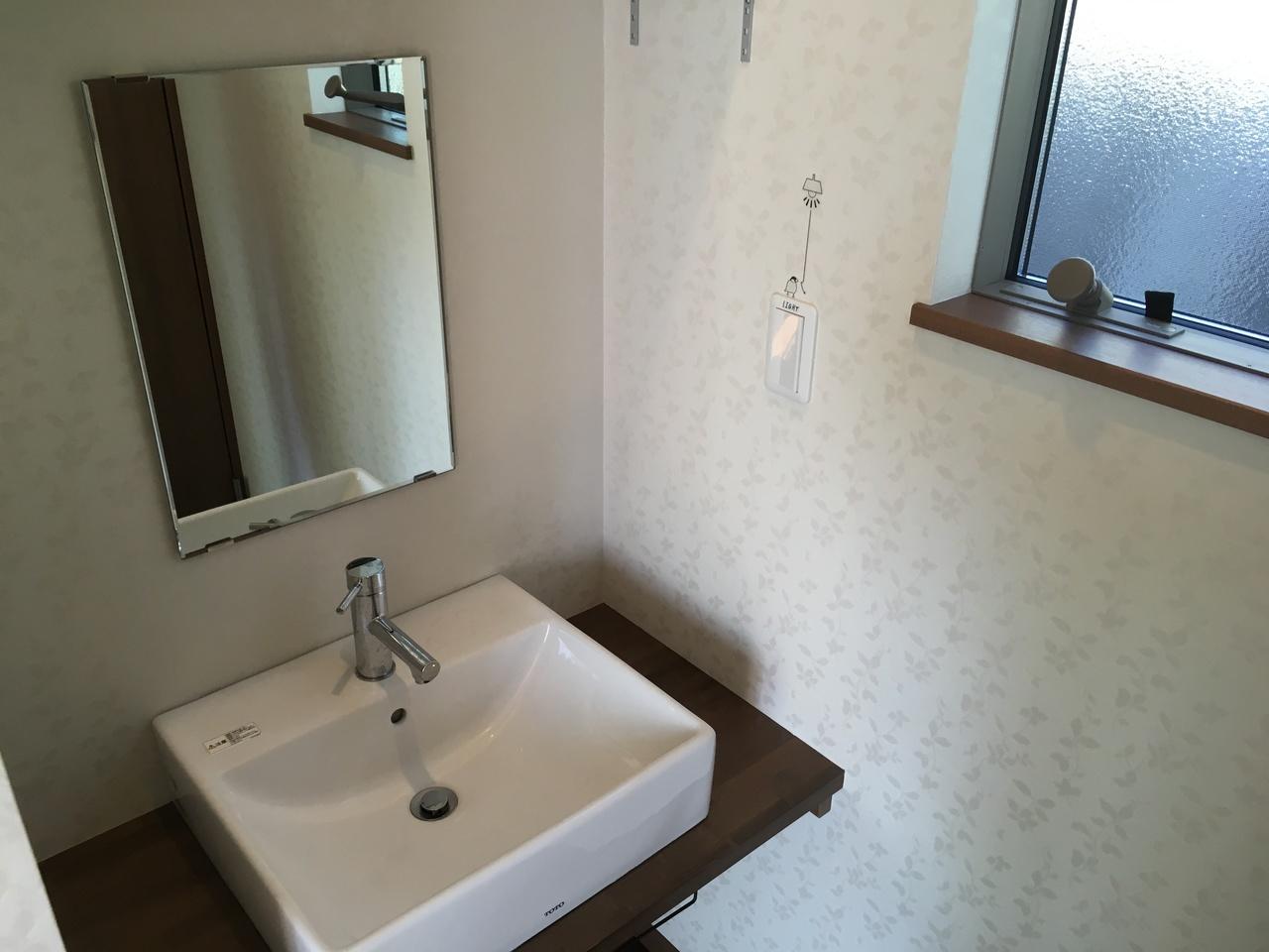 2階の洗面スペースです。