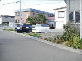 【外観写真】 青森市大野若宮 約30坪の売地です♪