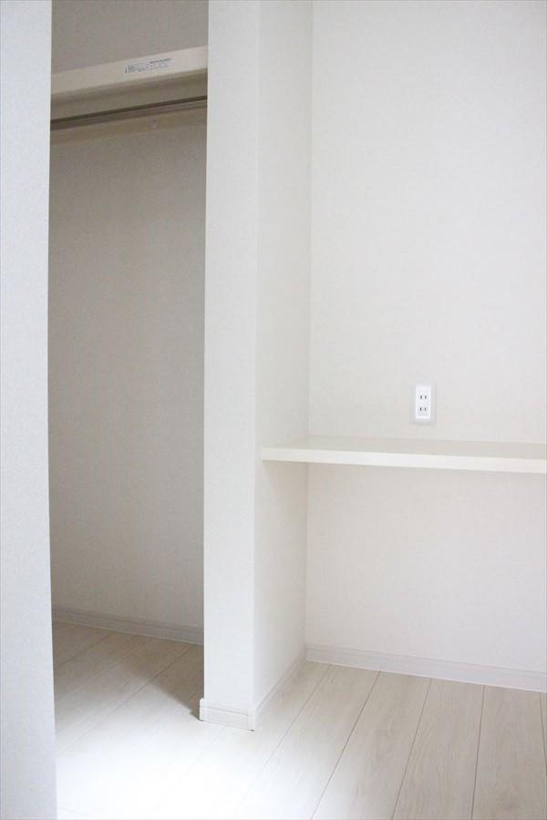 9帖の居室にはWICが完備されています!大切な衣類の保管に困りませんね!