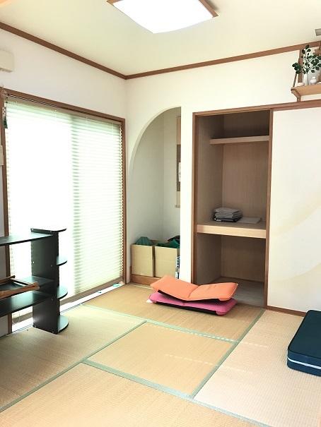 4.5帖の和室は客間としても☆半間の床の間で季節を感じるディスプレイも楽しめます♪
