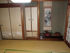 和室その1 本格和室です。