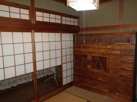 和室その2 障子をあけると縁側へつながります。