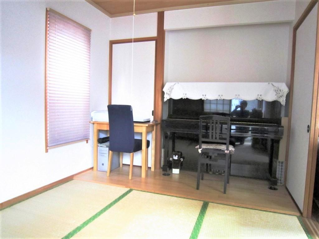 ☆和室☆ 1階の和室はリビングとつながっているので使い方自在で好評です